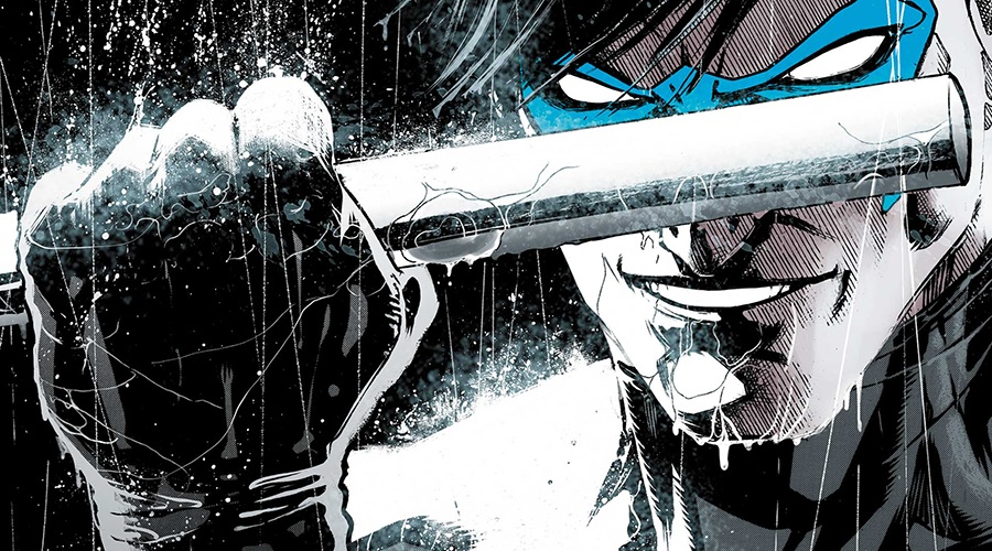 Nightwing director wants us to expect big things and white eye lenses!