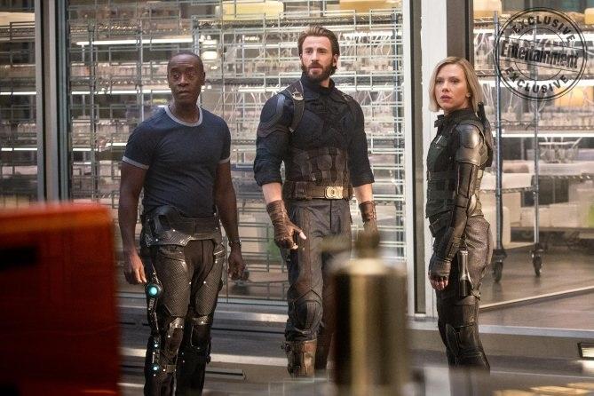 Rhodey, Steve and Natasha