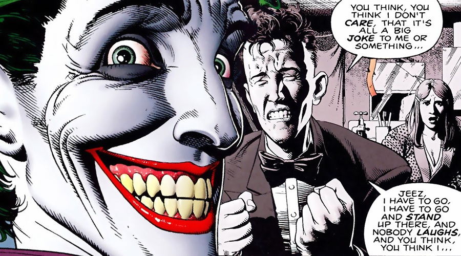 The Joker origin movie will reportedly introduce the supervillain as a 1980s failed comedian!