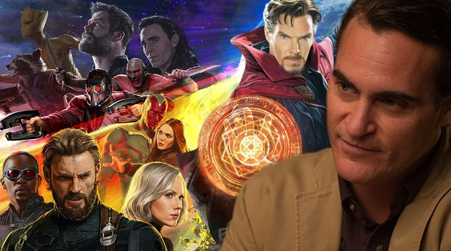 Joaquin Phoenix admires the Marvel Cinematic Universe but doesn't regret turning down the role of Doctor Strange!