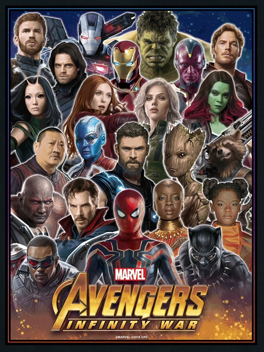 New Avengers: Infinity War promo art
