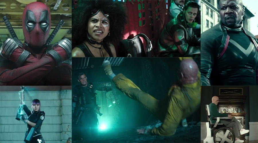 The Merc with a Mouth forms the X-Force in the new Deadpool 2 trailer!