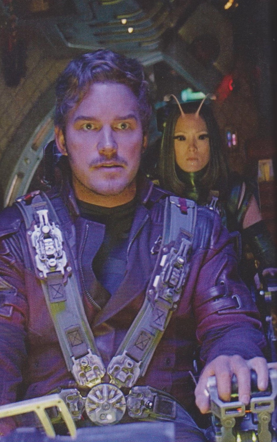 Star-Lord and Mantis