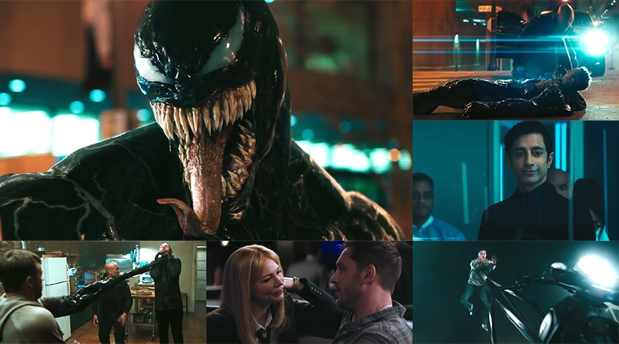 The second Venom trailer has made its way online!