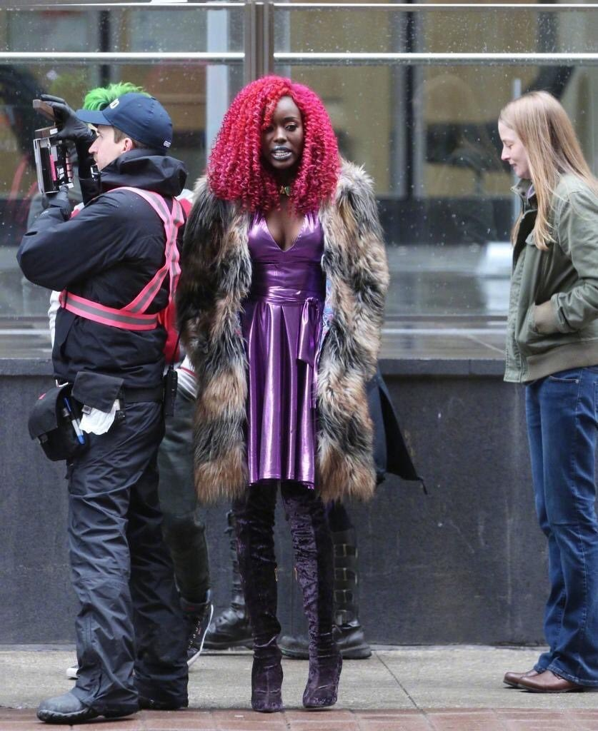 First look at Anna Diop's Starfire