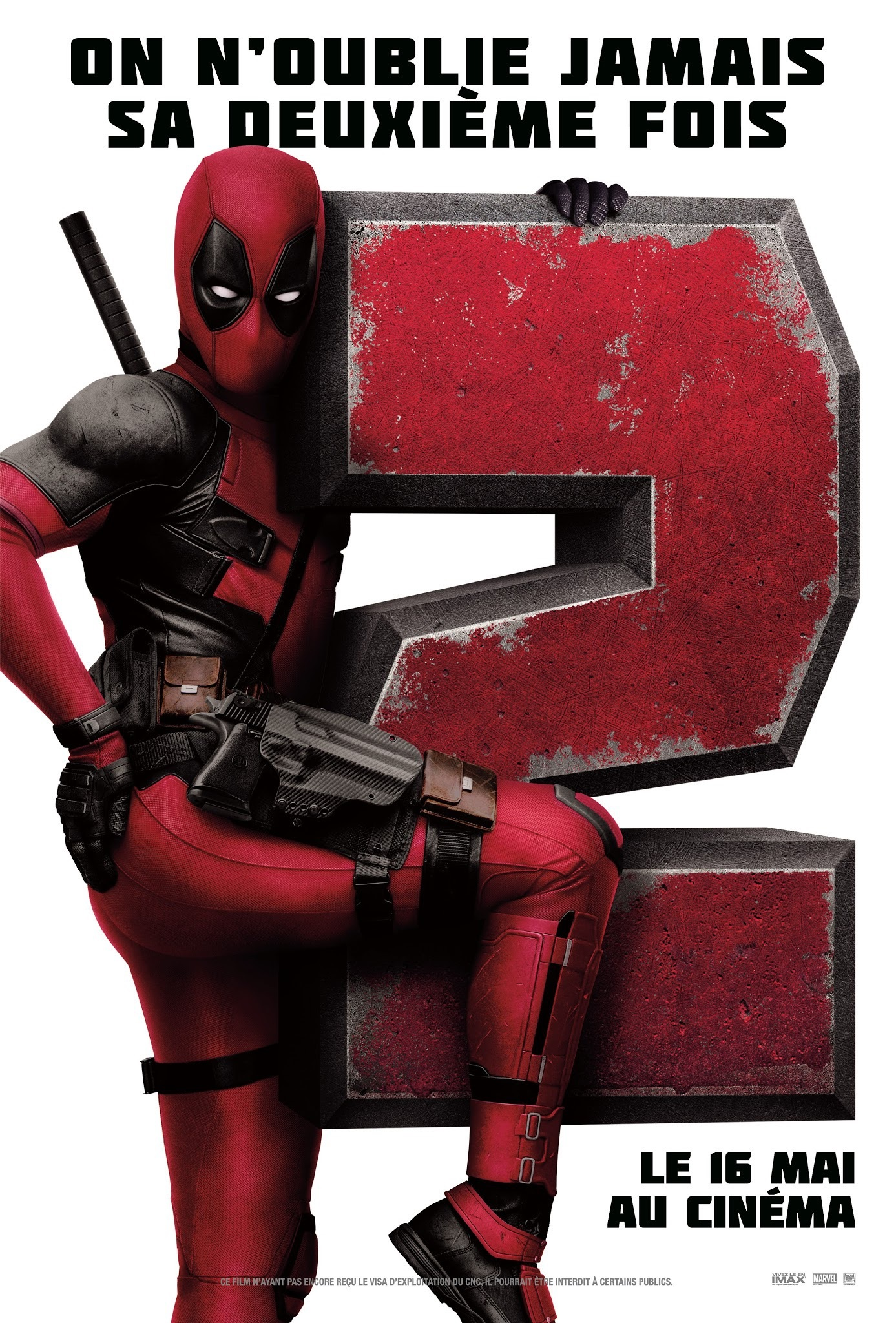 French poster for Deadpool 2