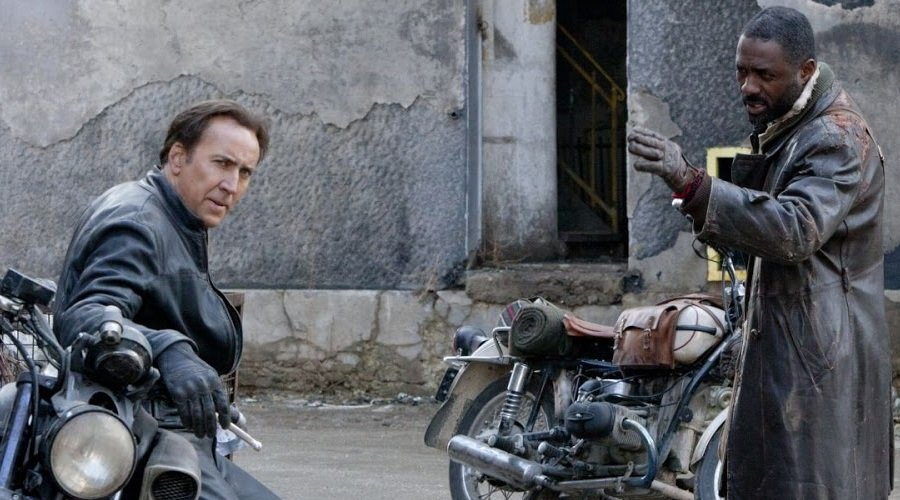 Nicholas Cage and Idris Elba in Ghost Rider: Spirit of Vengeance