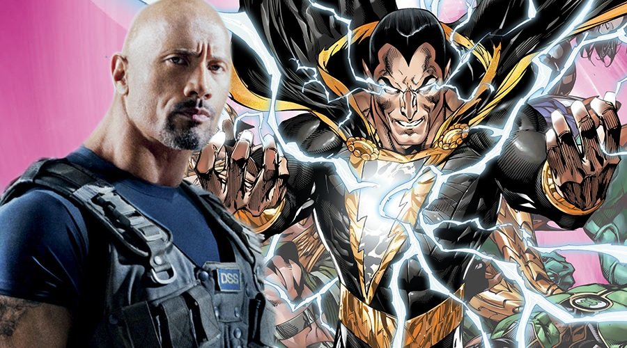 The Rock offers some rosy updates on Black Adam!