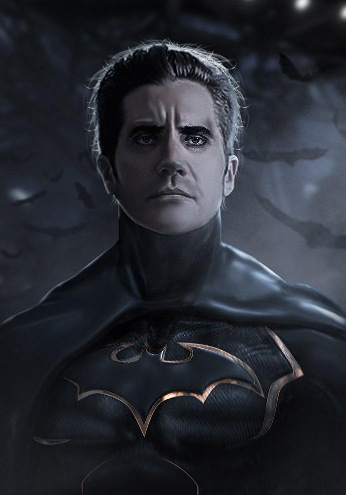 Another Bat-Gyllenhaal fan-art