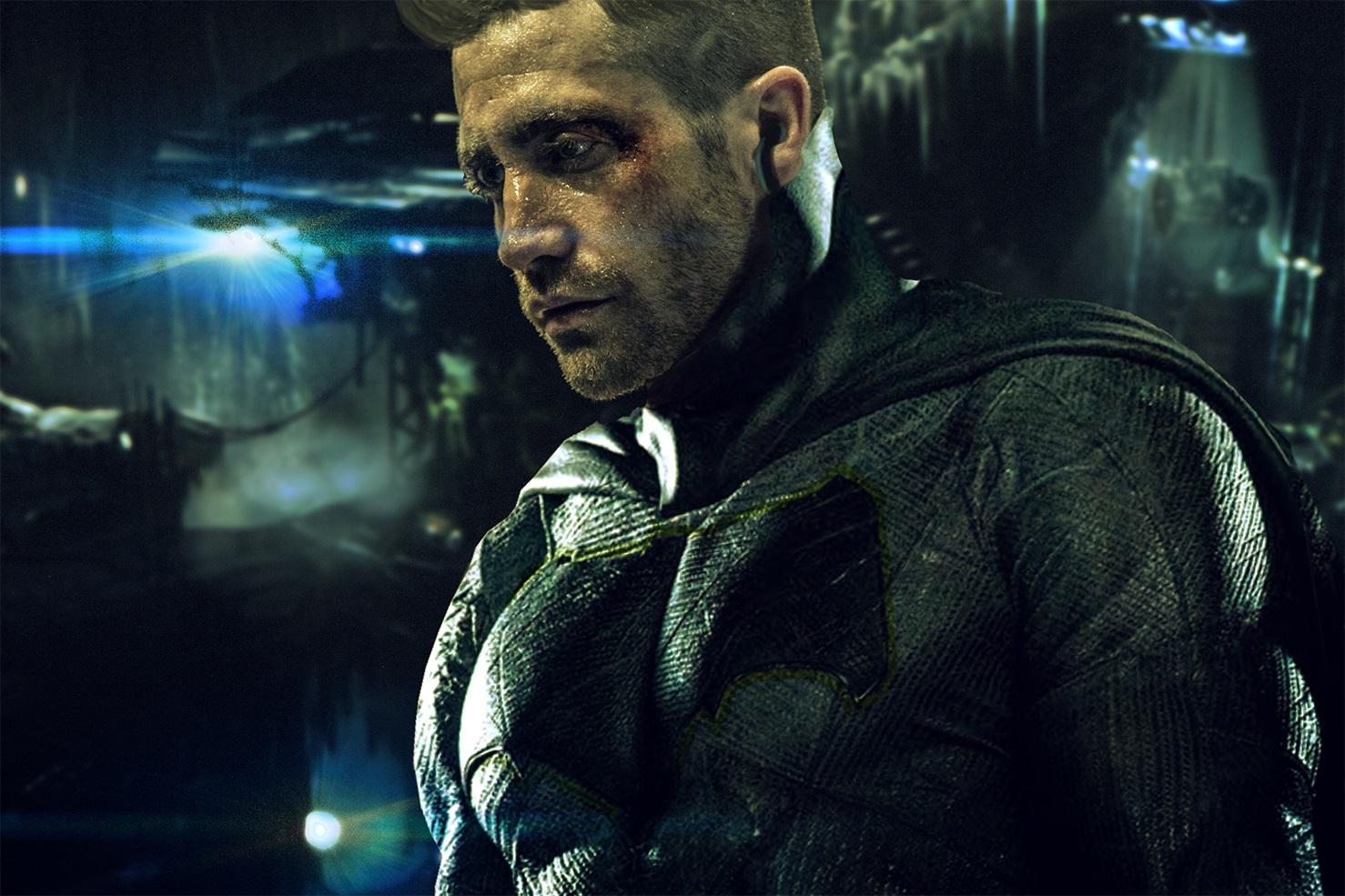 Fan-art depicting Jake Gyllenhaal as Batman