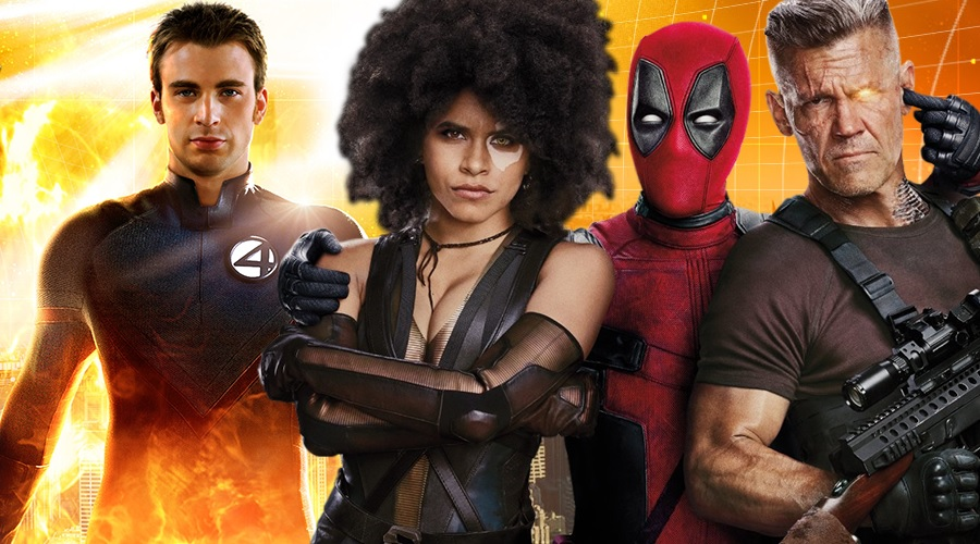 Screenwriters reveal that an original idea for Deadpool 2 post-credits scene included a Human Torch cameo from Chris Evans!