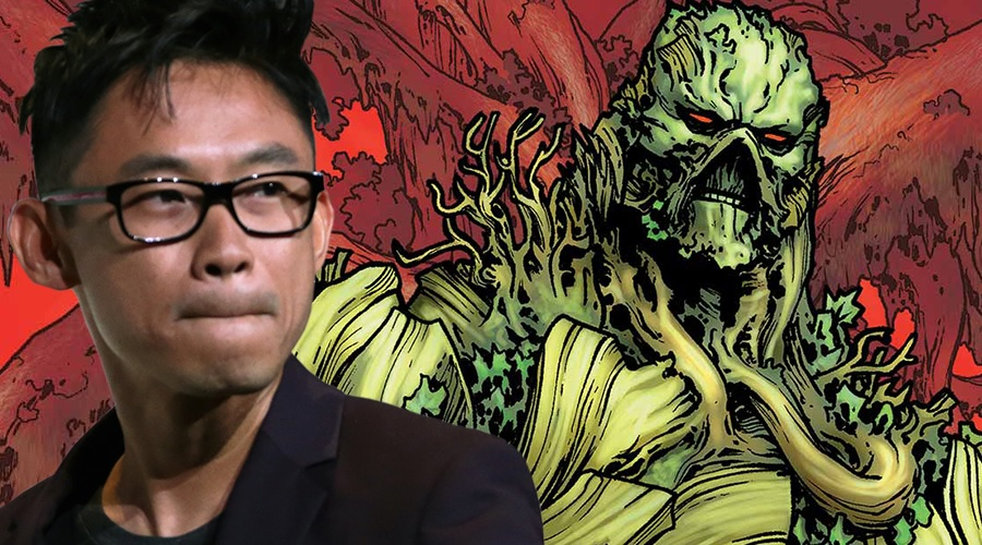 James Wan is reportedly co-directing the Swamp Thing pilot with Deran Sarafian!