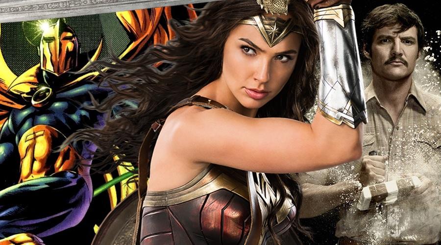 New Wonder Woman 2 fan art imagines Pedro Pascal as Doctor Fate!