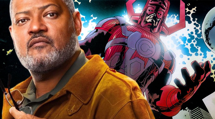 Laurence Fishburne is interested in playing Galactus in the Marvel Cinematic Universe!