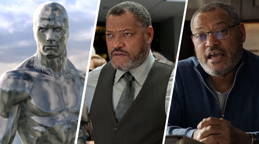 If Laurence Fishburne lands the role of Galactus, it would be his fourth comic book role!