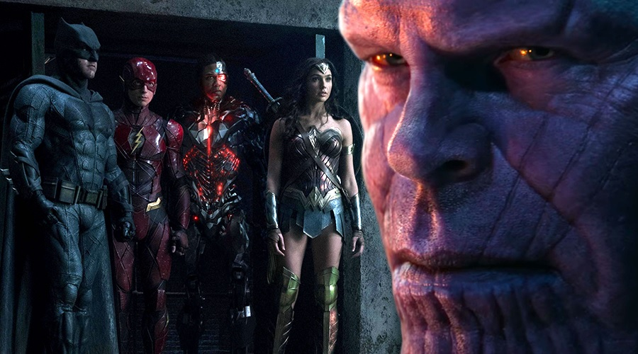 Avengers: Infinity War has now made more at the domestic box office than Justice League's entire global run!