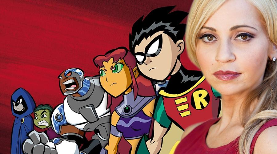 Tara Strong teases the revival of original Teen Titans series!