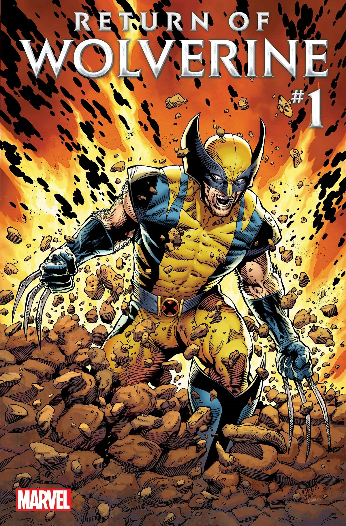 Return of Wolverine #1 cover by Steve McNiven
