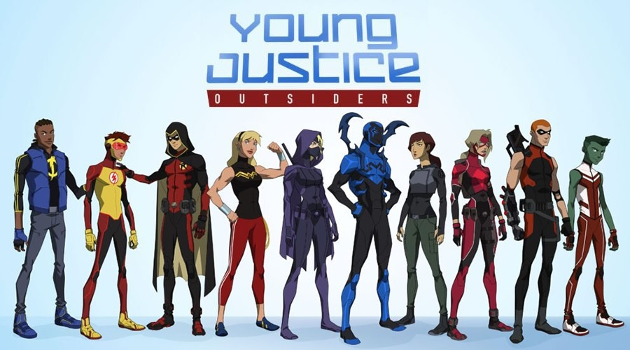 First look at Young Justice: Outsiders will debut at San Diego Comic-Con next month!
