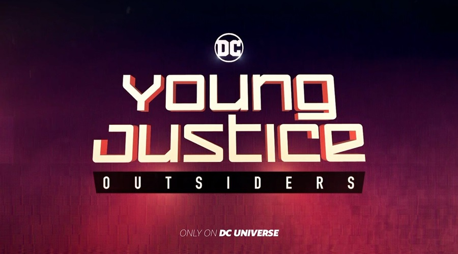 Young Justice: Outsiders title card