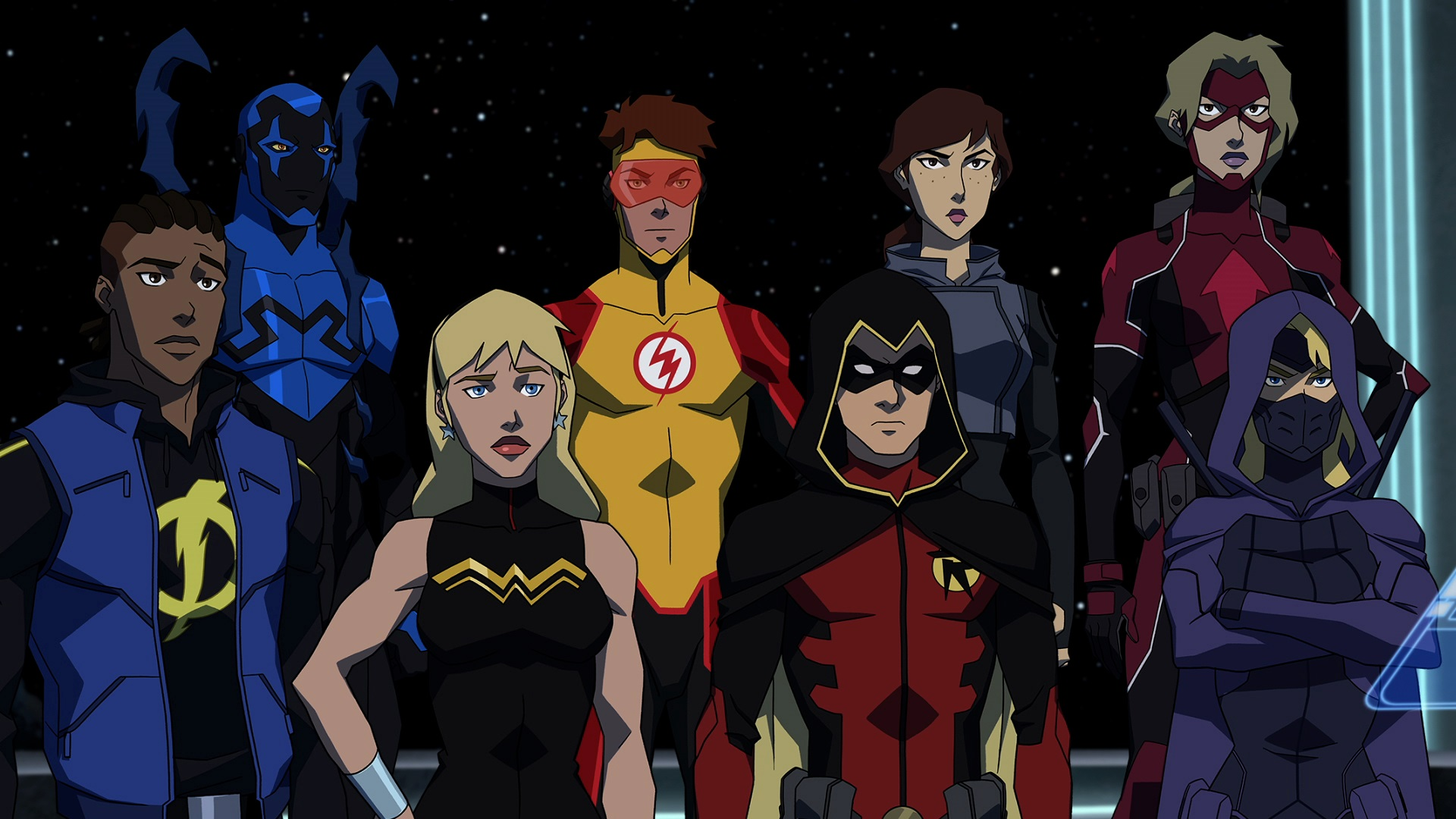 New Young Justice: Outsiders image