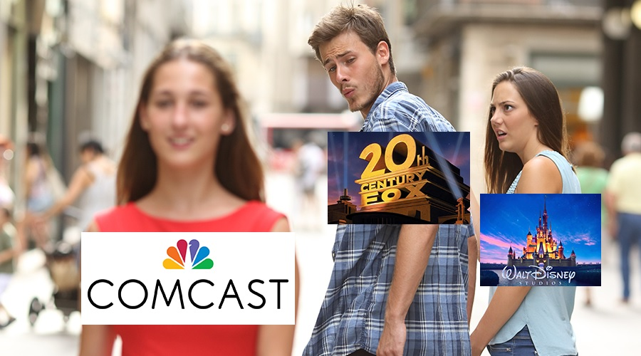 The Disney/Fox merger and Comcast