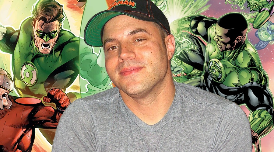 Geoff Johns will write and produce Green Lantern Corps!