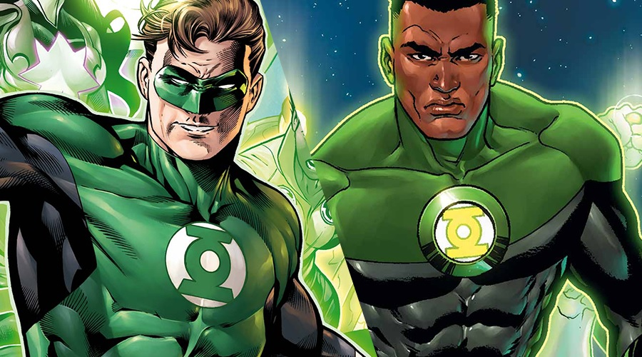 Hal Jordan and John Stewart have been officially confirmed as the central characters of Green Lantern Corps!