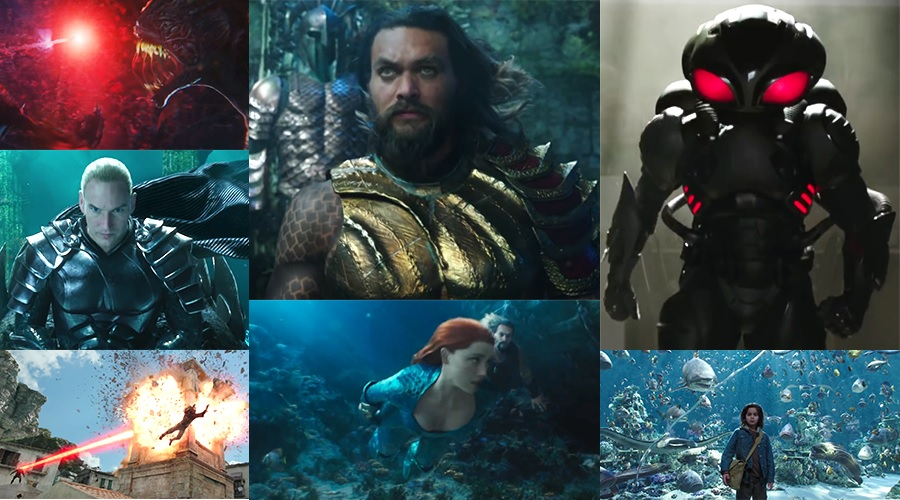 The first Aquaman trailer takes us to a majestic Atlantis!