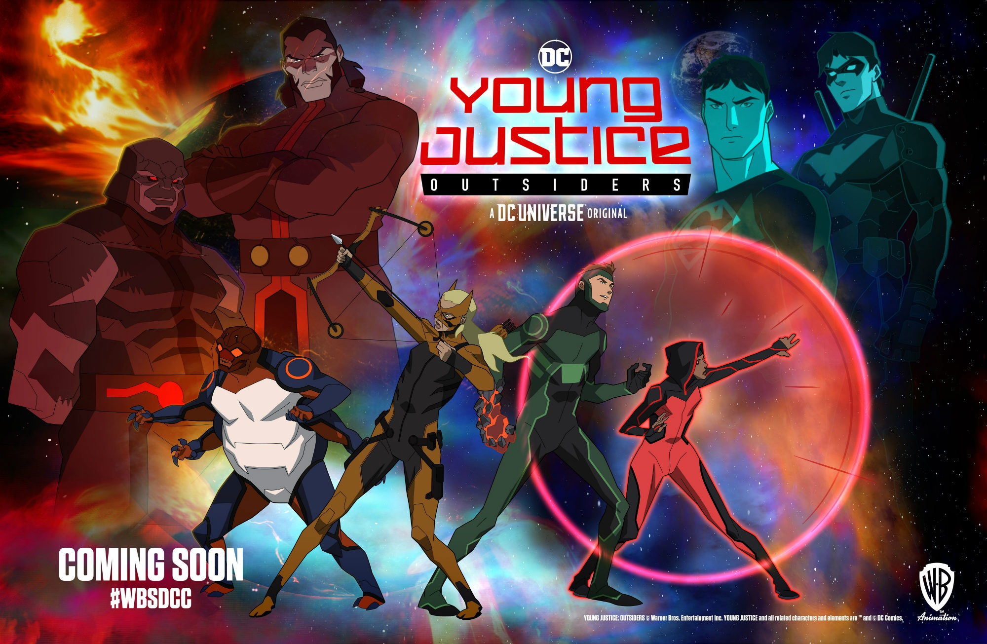 The new Young Justice: Outsiders poster
