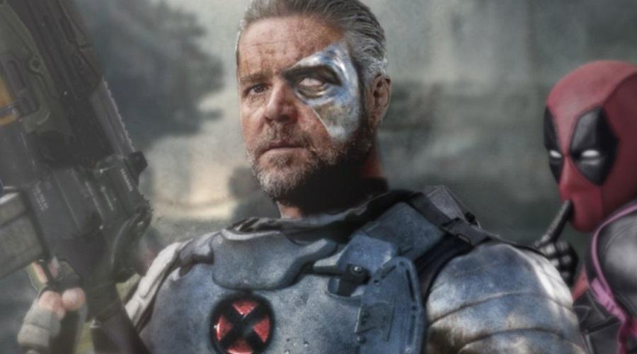 Deadpool 2 fan-art depicting Russell Crowe as Cable