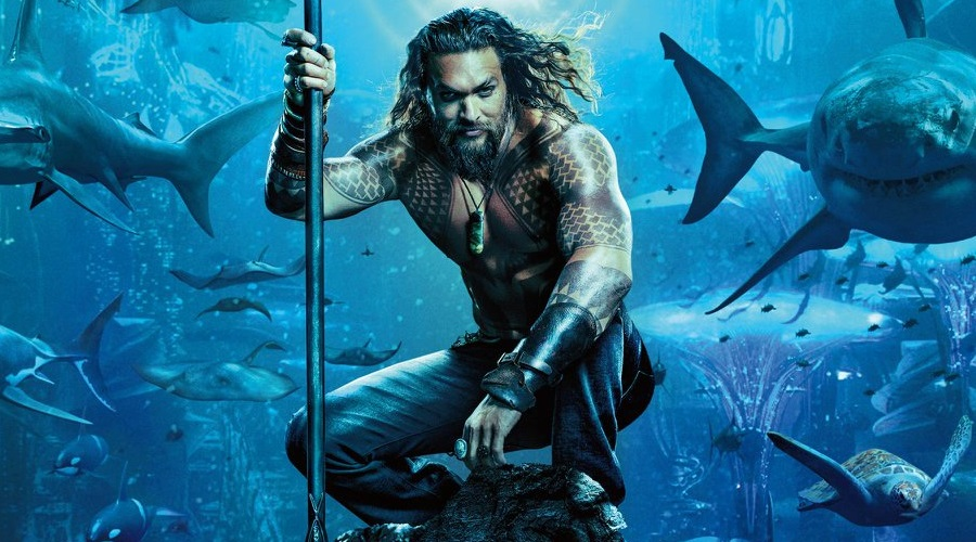The first official Aquaman poster has arrived along with the first look at the movie's trailer!