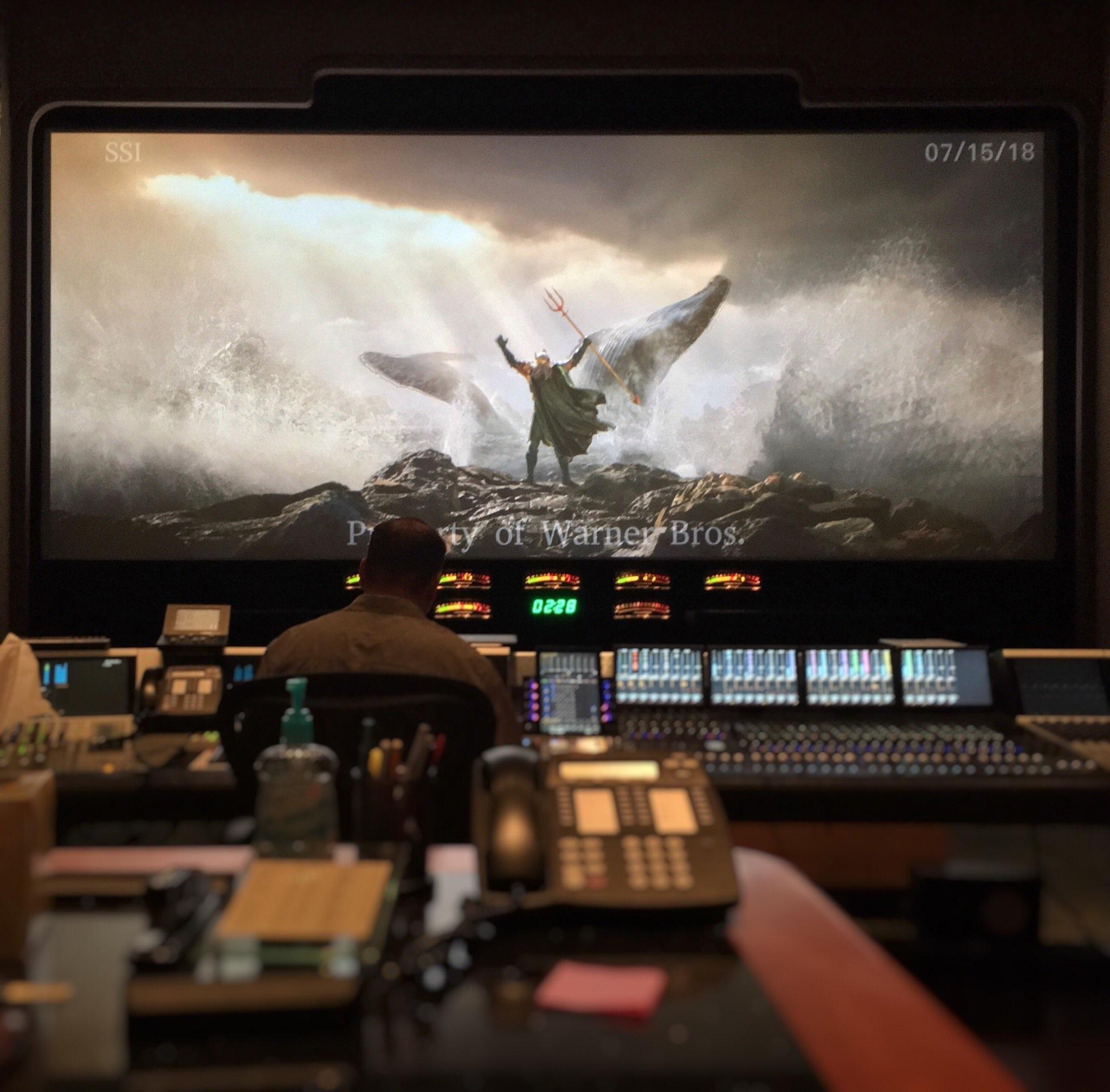 First look at Aquaman trailer
