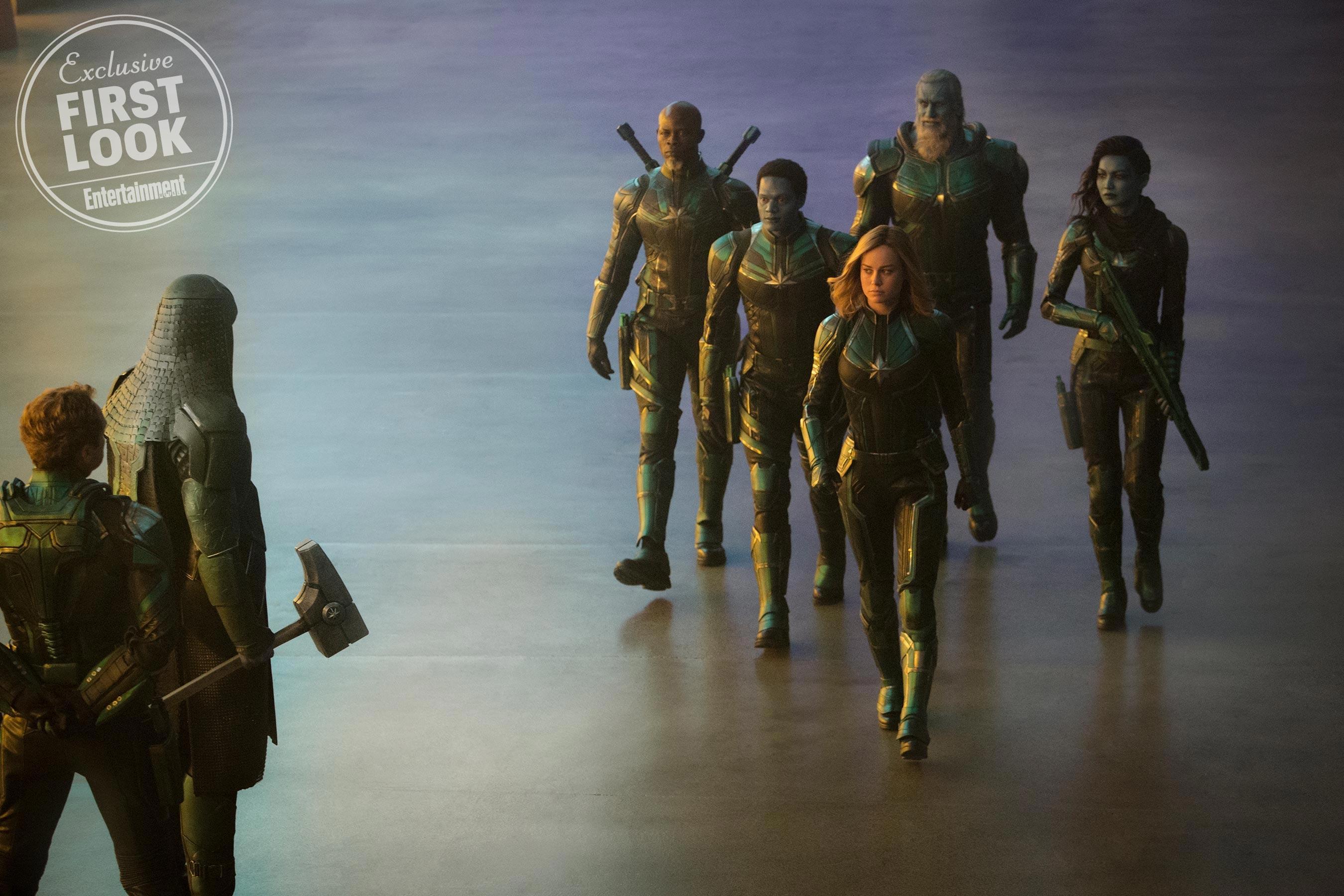 Ronan meets Mar-Vell's Starforce team that includes Carol Danvers, Korath the Pursuer and Minn-Erva
