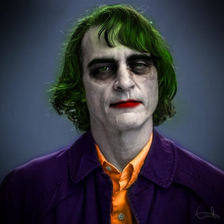 Fan-art featuring Joaquin Phoenix as The Joker
