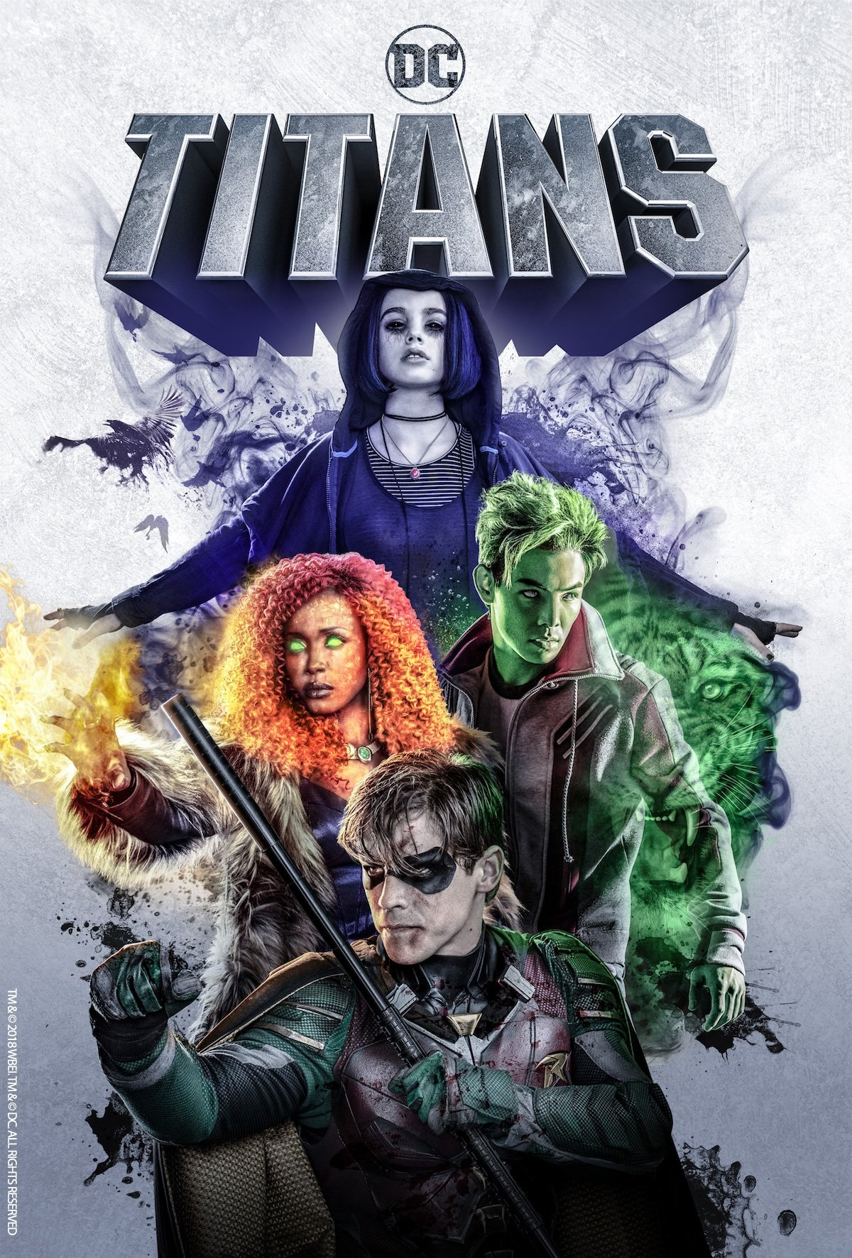 The new Titans poster