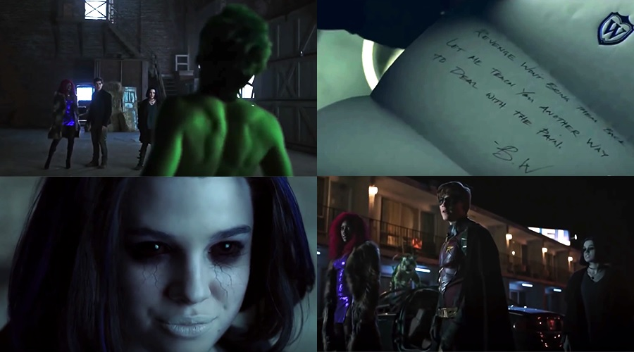 Four new Titans clips have arrived putting the spotlight on each of Raven, Starfire, Robin and Beast Boy!