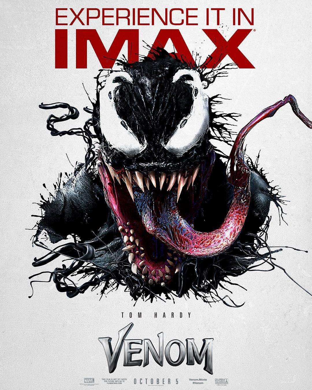IMAX poster for Venom