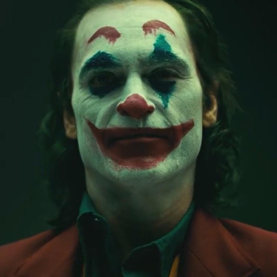 A screenshot from the Joker camera test