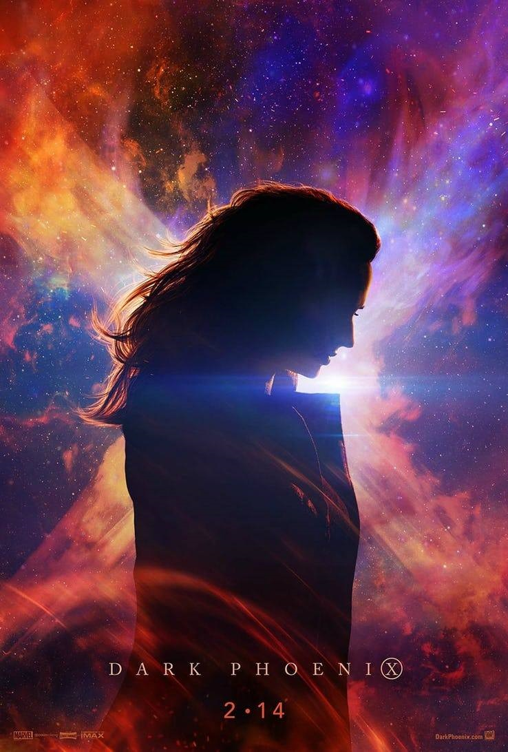 New Dark Phoenix poster