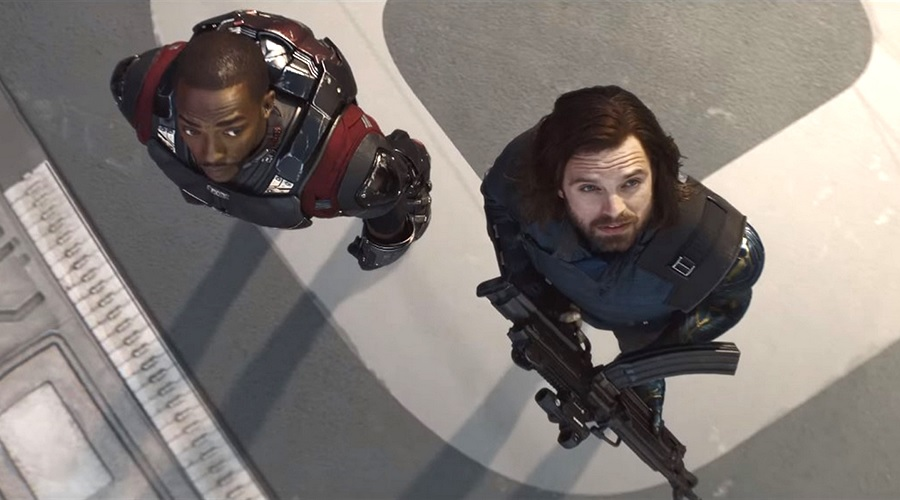 Falcon and Winter Soldier in Avengers: Infinity War