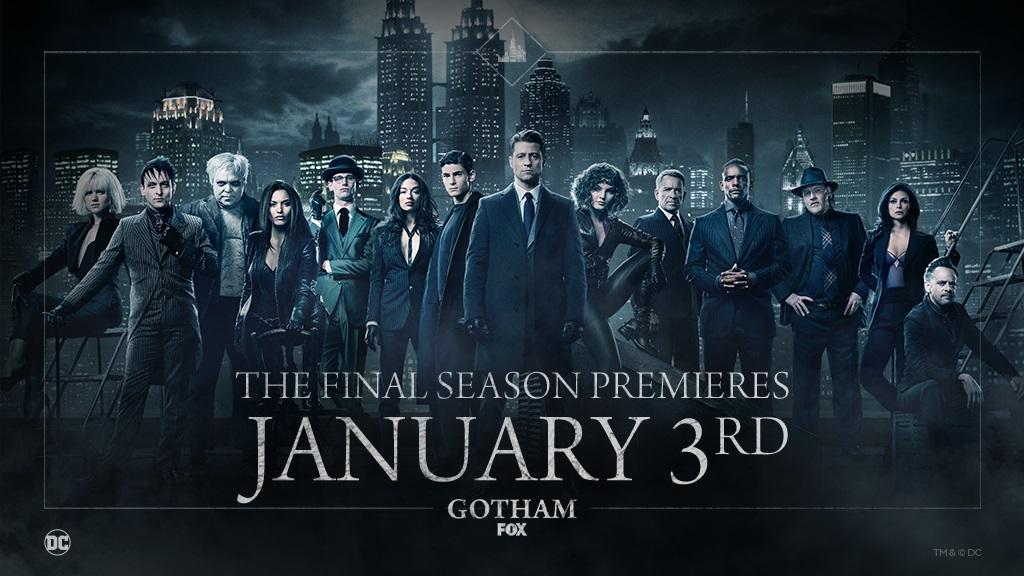 New banner for Gotham Season 5
