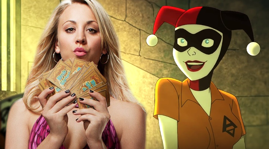 DC Universe's Harley Quinn casts Kaley Cuoco in the lead role!