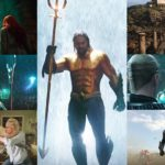 New extended trailer for Aquaman offers our first look at Jason Momoa's superhero in a comics-inspired green and gold suit!