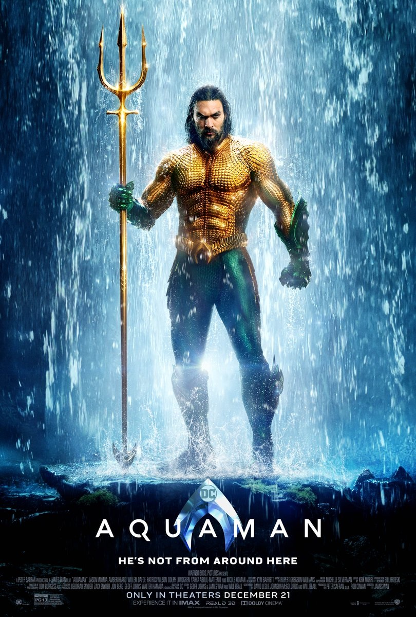 A new poster for Aquaman