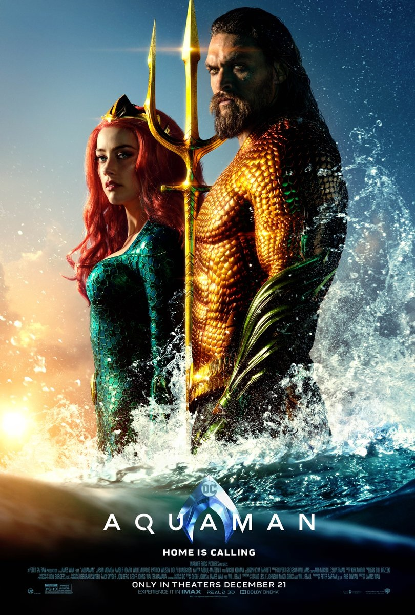 Another new poster for Aquaman