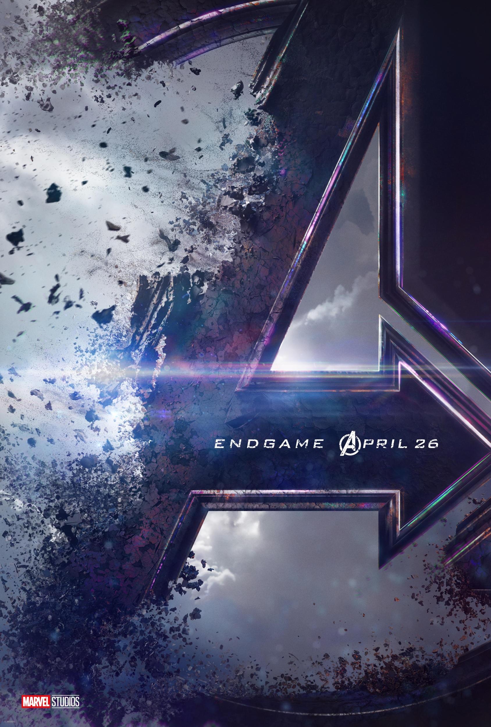 New poster for Avengers 4