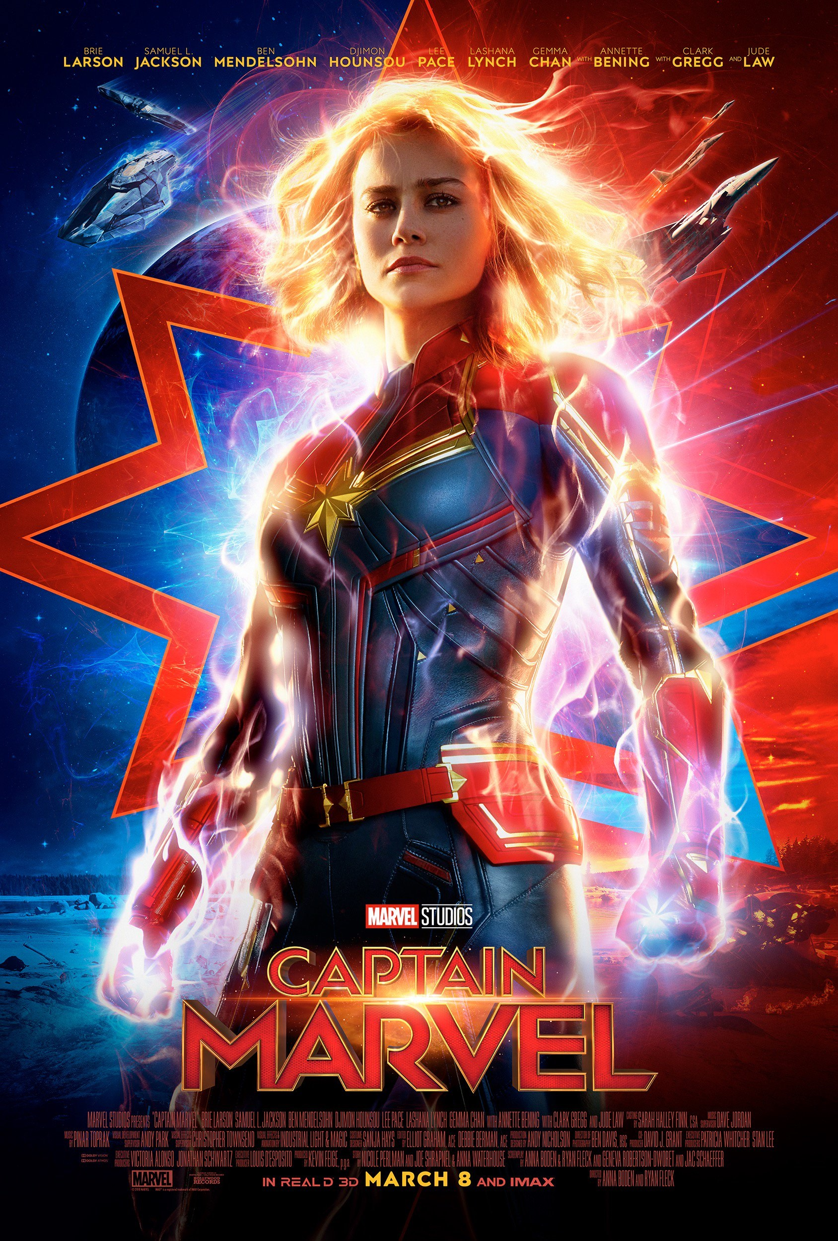 New poster for Captain Marvel
