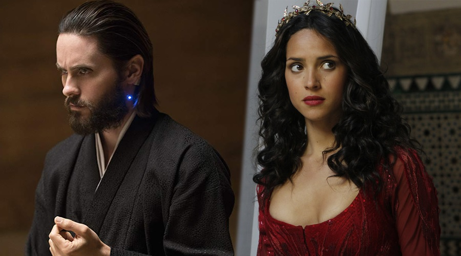Jared Leto and Adria Arjona are the leading pair in Morbius