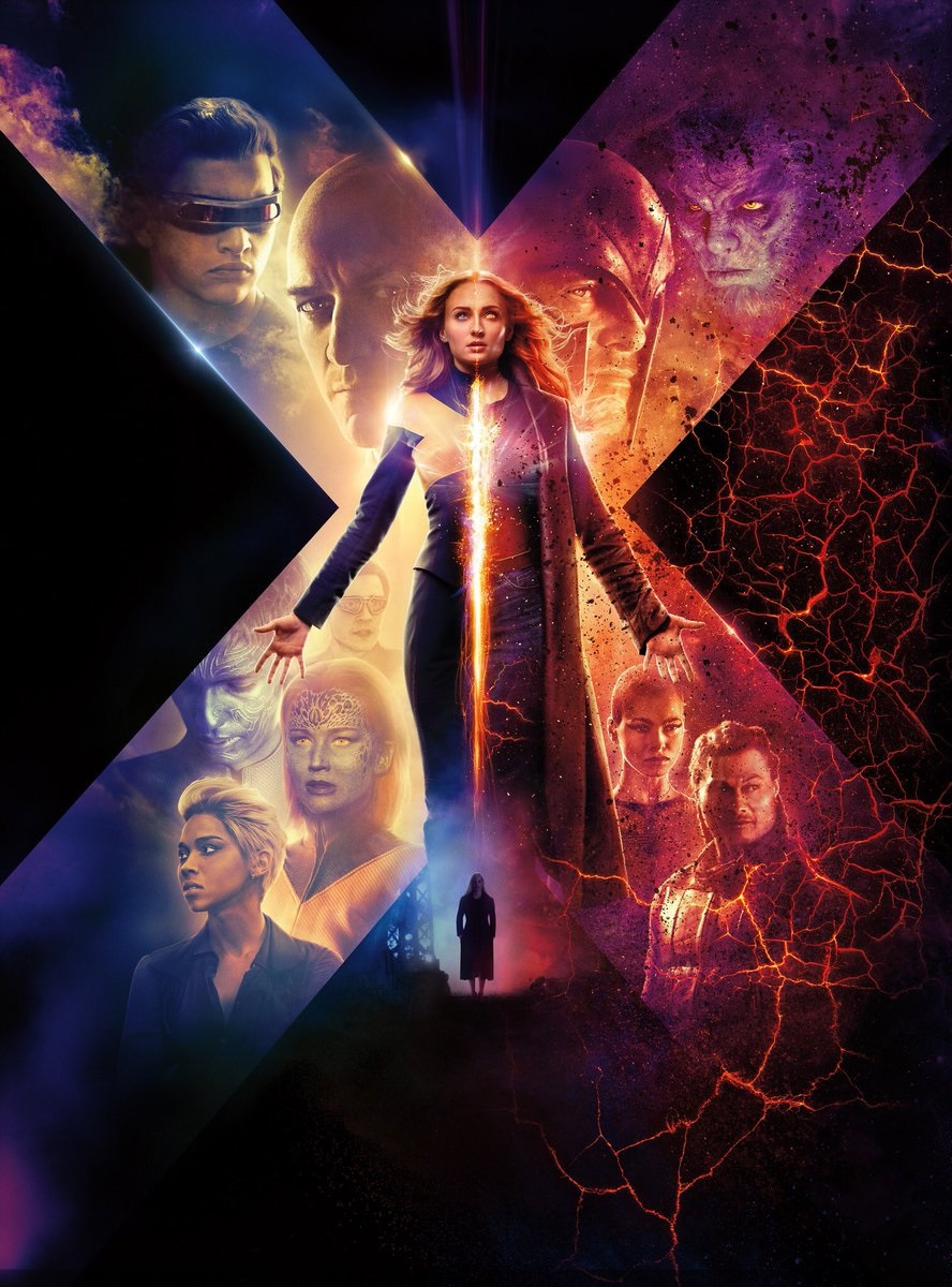 The leaked Dark Phoenix poster